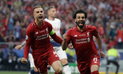 Following the victory at the UEFA Champions League finals, Liverpool has received a sum of €108.9 million while the defeated team Tottenham Hotspur are also smiling to the bank as they earn €104 million for their achievement.