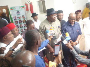 The Chairman of the PDP Governors' Forum, Gov. Seriake Dickson of Bayelsa State has debunked allegations saying PDP governor was involved in the alleged diversion of local government money.