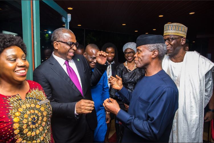 VP Osinbajo At Nigeria-France Business & Investment Forum Dinner Abuja