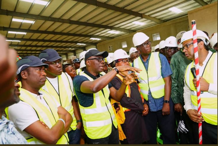Sanwo-Olu Inspects Imota Rice Mill Project, Promises Timely Completion