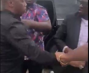 VIDEO: Lawmaker Caught Attacking APC Chairman Over Refusal To Sign Documents