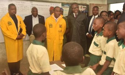 Sanwo-Olu Starts Assessment Tour Of State Owned Schools