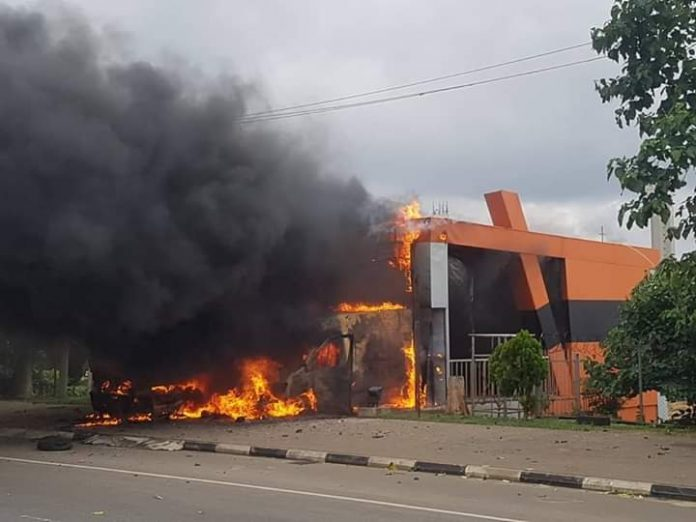Just In: Two Killed As Shiites Set NEMA Sub-Station Ablaze