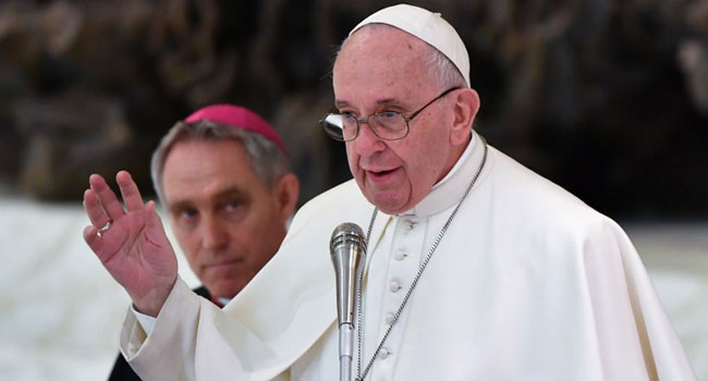Italian Matteo Bruni was on Thursday appointed the new head of the Vatican's press office, effectively making him Pope Francis' spokesman.