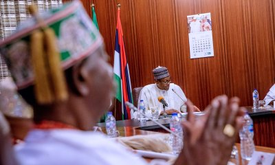 What Buhari Discussed With South West Monarchs In Abuja