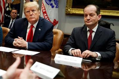 US Labour Secretary Alexander Acosta has resigned, a casualty of the widening sexual assaults case against billionaire Jeffrey Epstein.