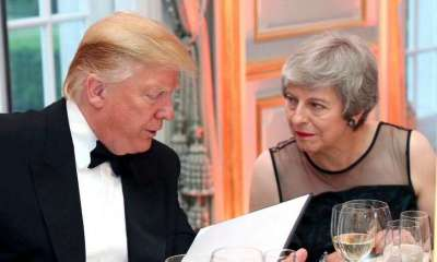 "President Trump on Tuesday said Prime Minister Theresa May was ""foolish"" in her handling of Brexit, as he doubled down on the feud with Britain's ambassador to the U.S. Kim Darroch — whom he called ""wacky,"" ""stupid"" and a ""pompous fool."""