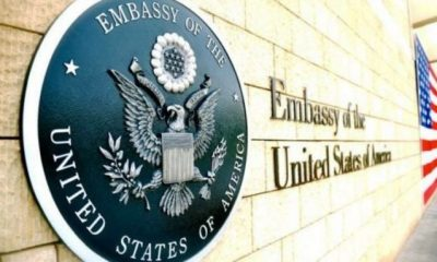 US Embassy Annouces New Visa Fee, Effective From Thursday