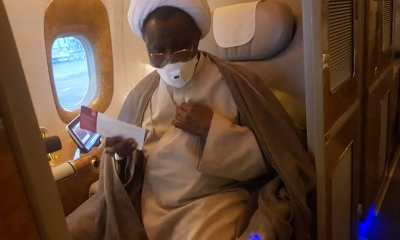 DSS Operatives Whisk El-Zakzaky Away On Return To Nigeria