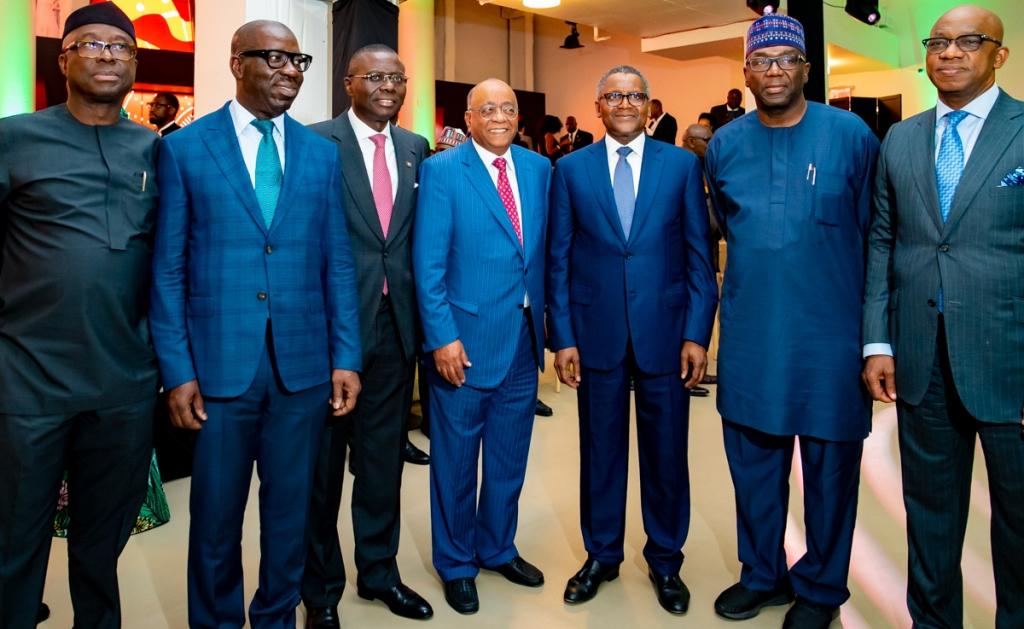Photo News: Sanwo-Olu, Dangote, Others At Future Africa Forum