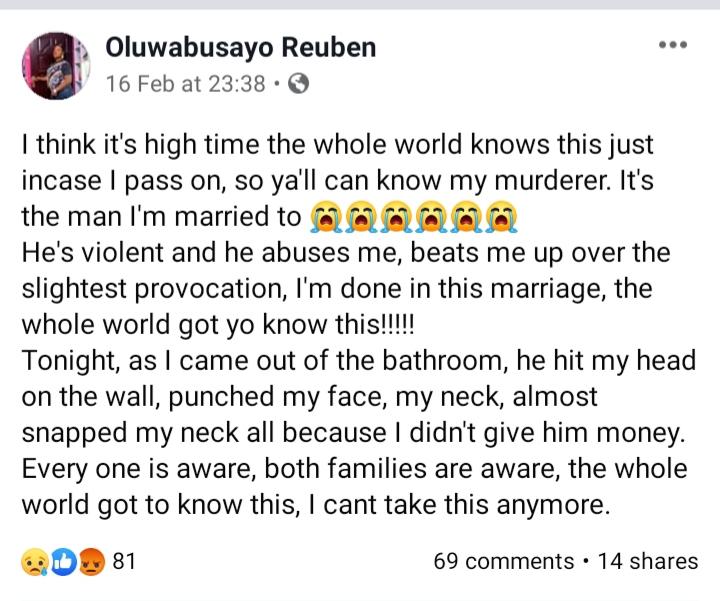 Oluwabusayo Reuben
