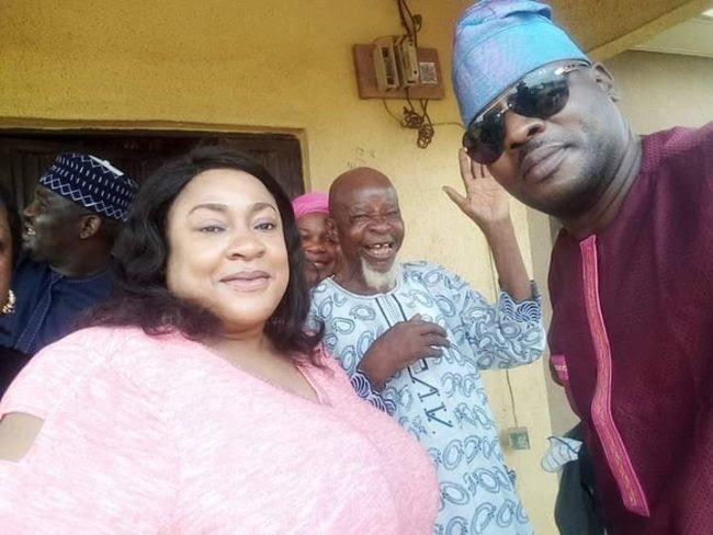 Nollywood Actors Throw Surprise 95th Birthday party For Ace Actor, Agbako