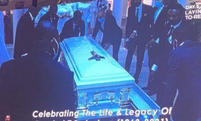 TB Joshua Buried At SCOAN (Photos)