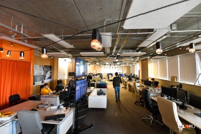 У каждого отдела компании свой распорядок дня и дизайн офиса