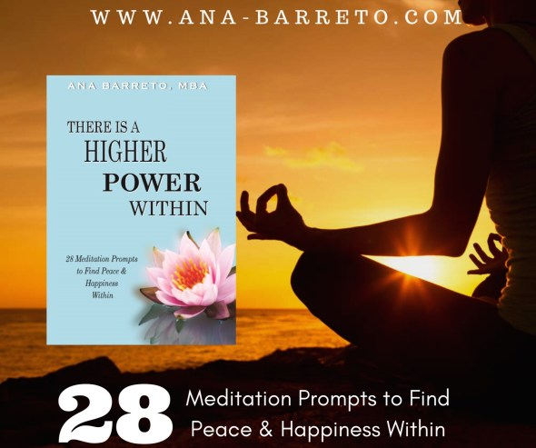 book by Ana Barreto - There is a Higher Power Within