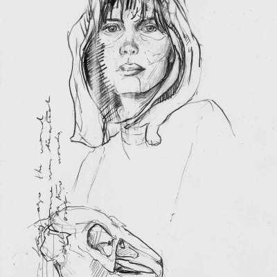 In our bones | Graphite pencil on paper | 21x29.7 cm