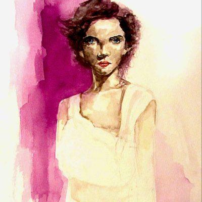 Watercolour on paper | 32x41cm