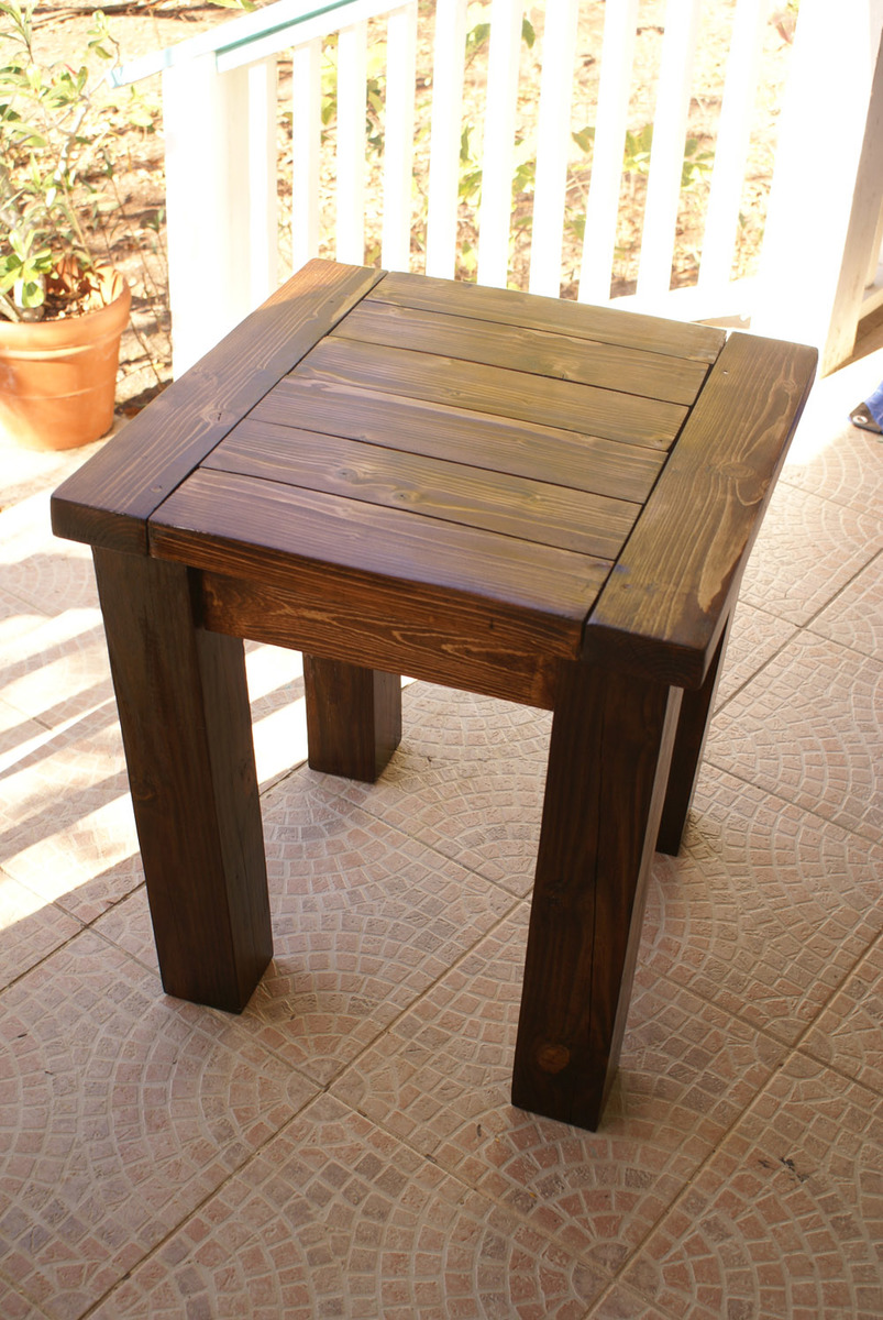 Ana White First Tryde Side Table DIY Projects