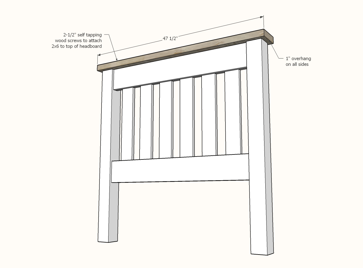 Simple Bed Twin Size