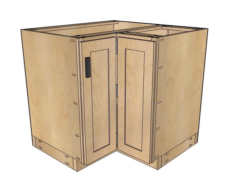 Building Kitchen Base Cabinets Diy Blueprint Plans