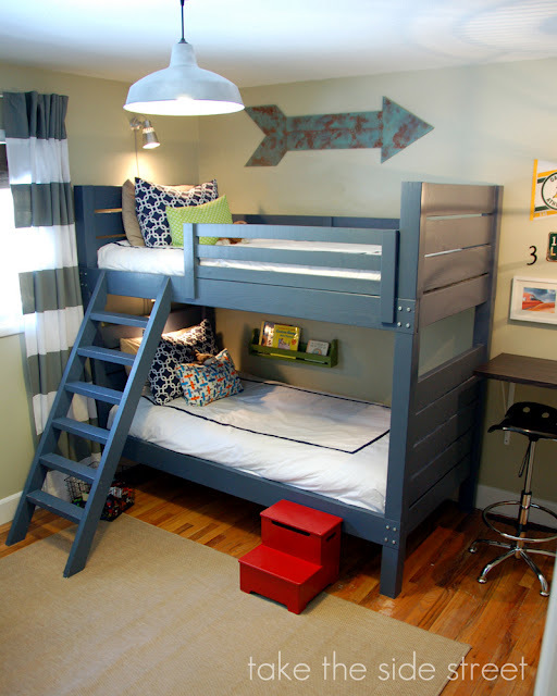 easy to build bunk bed plans