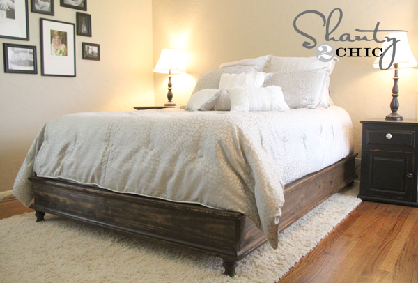 Chestwick Platform Bed - Queen Size - DIY Projects