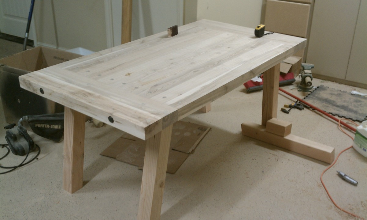 Dining Table: Pottery Barn Dining Table Benchwright