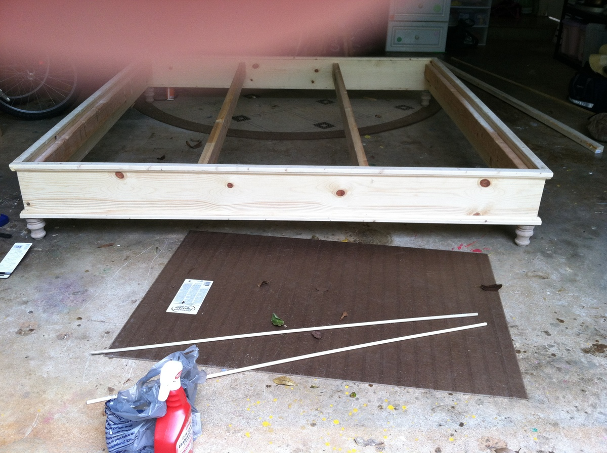 plans building a full size platform bed