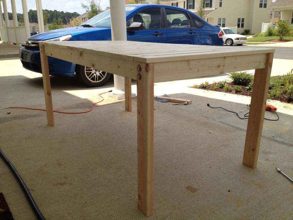 Wood Basic Dining Table Plans PDF Plans