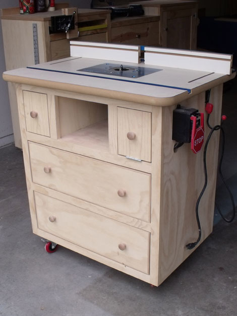 Build DIY How to build a router table top PDF Plans Wooden ...