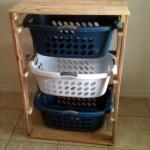 Pallet Laundry Basket Dresser By Pallirondack Ana White