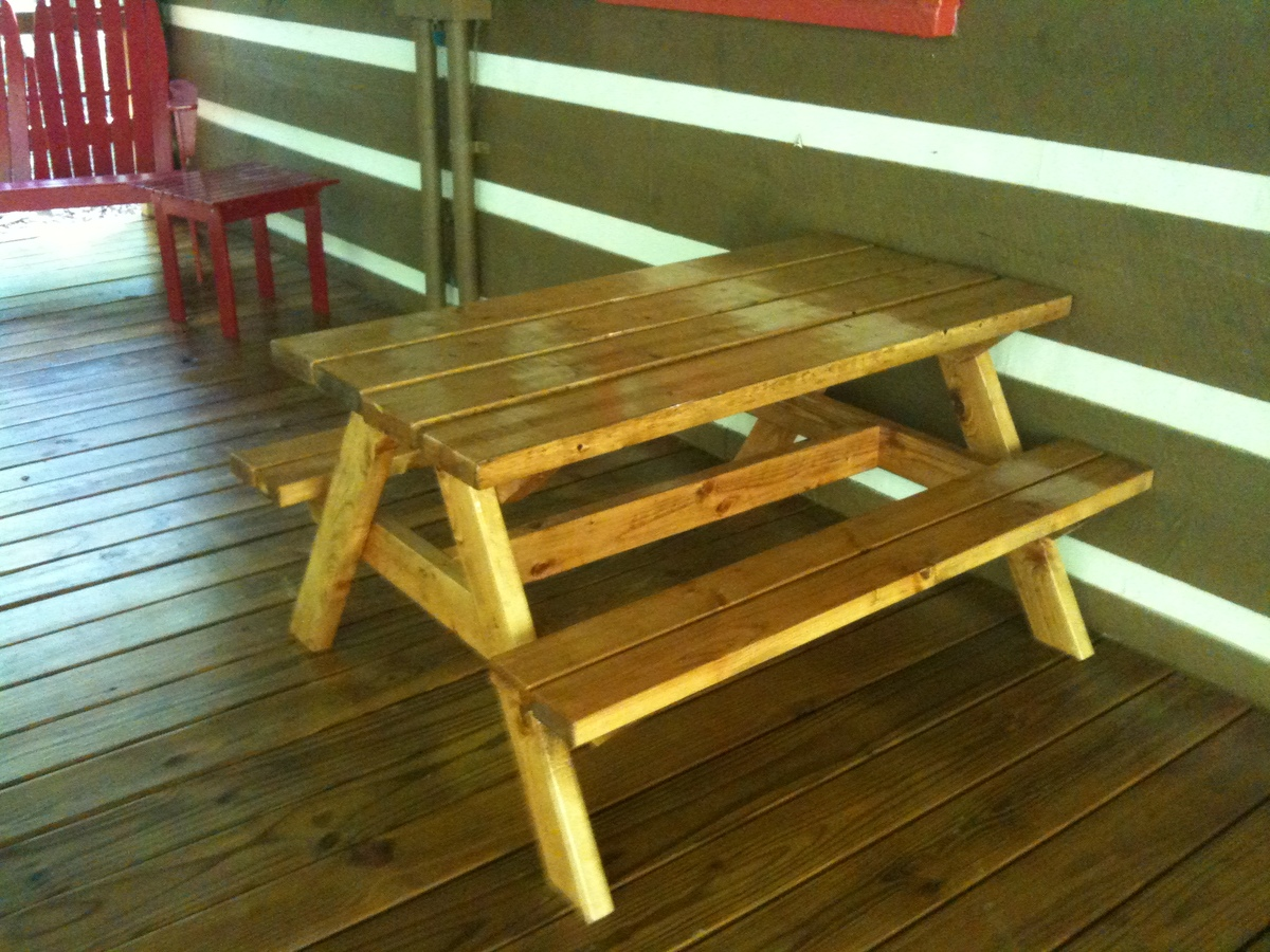 Pdf Toddler Size Picnic Table Plans Diy Free Plans