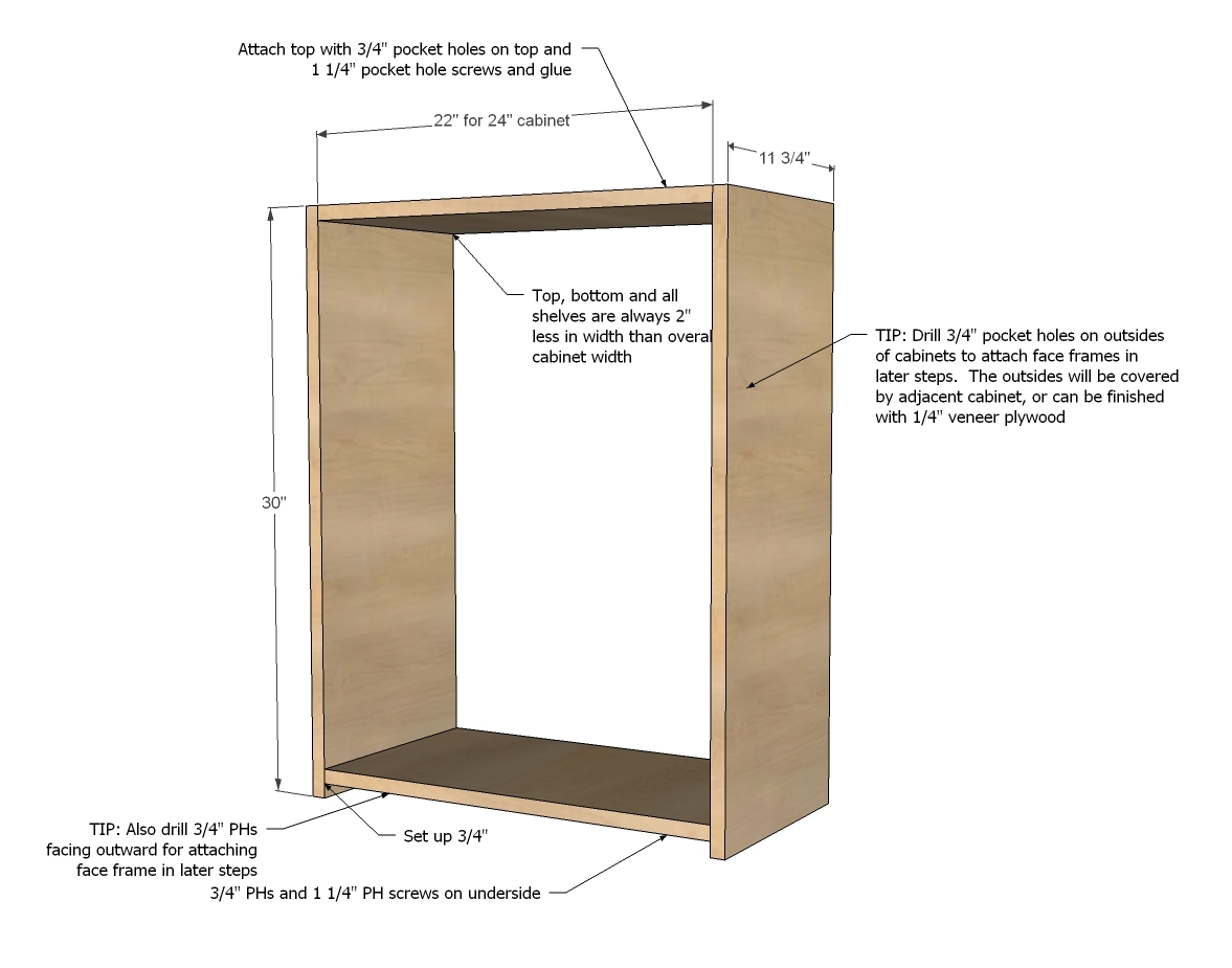 diy kitchen cabinets building