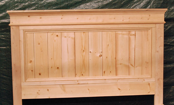 woodworking plans headboard bed