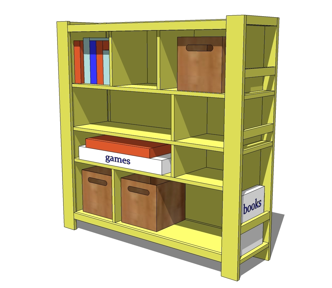 Storage Shelf Plans Basement Plans Diy Free Download Pine: Easy Diy Bookshelf Plans DIY Blueprint Plans Download Free