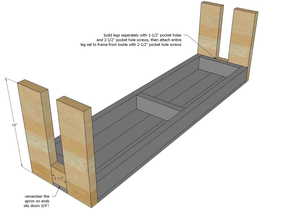 2x4 sitting bench plans