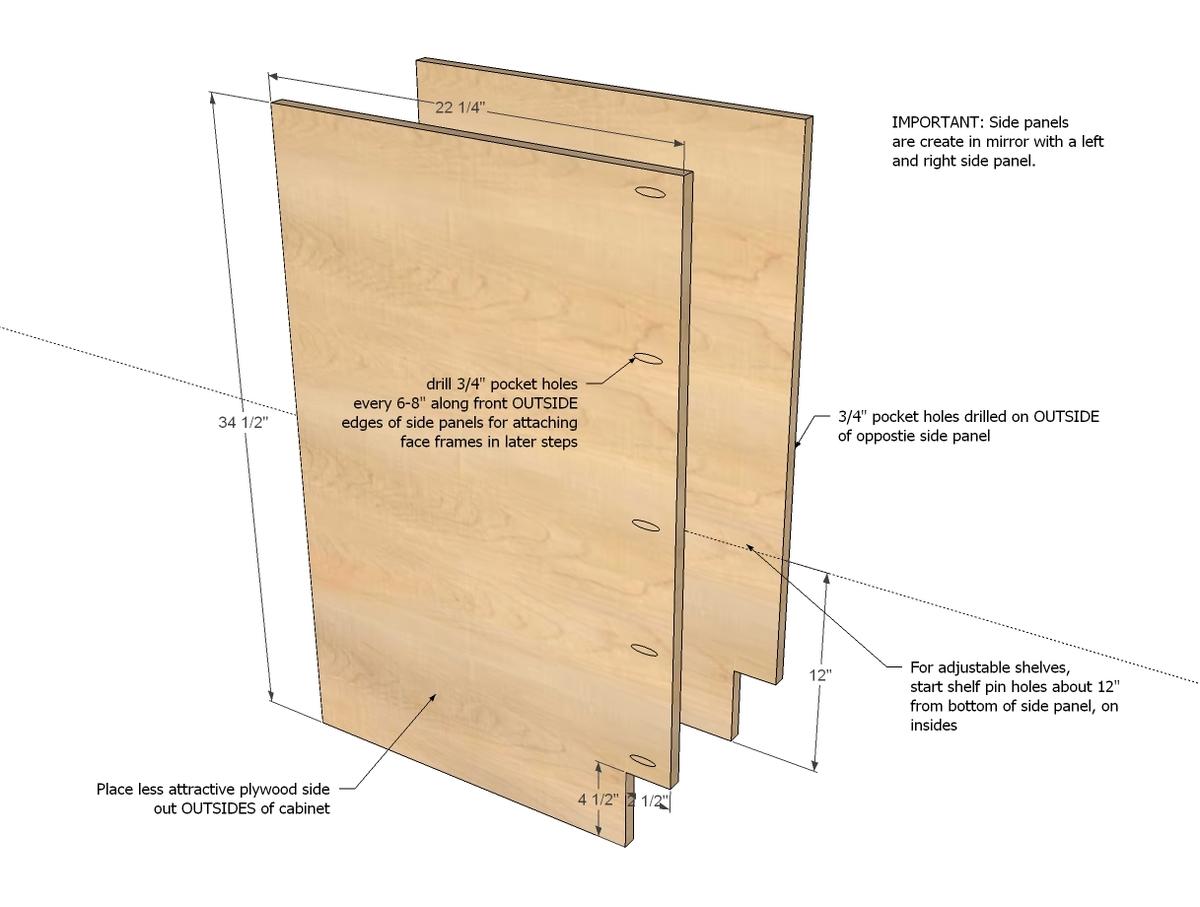 pdf plans kitchen base cabinets plans download plans kitchen base cabinet dimensions