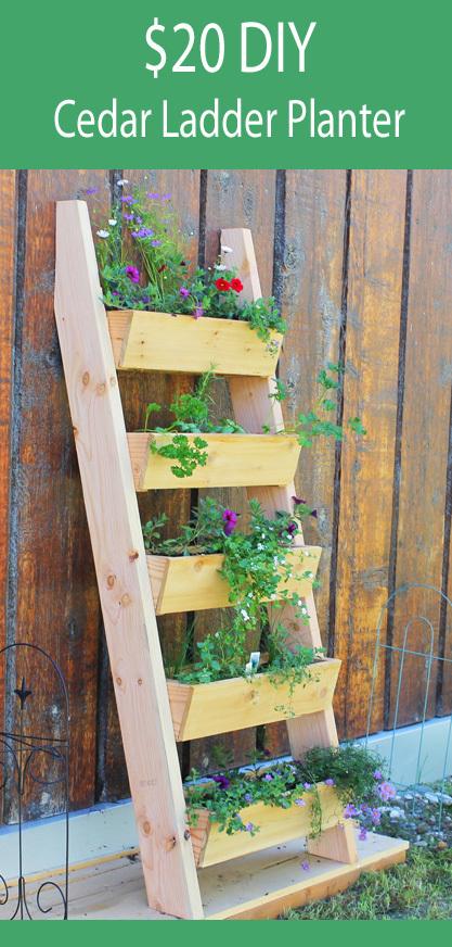Tiered Planter Box Plans