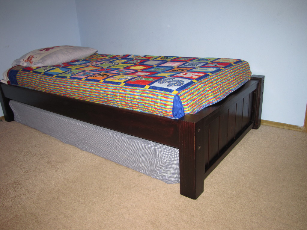 twin platform bed designs