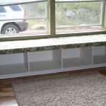 Reveal Secrets Diy Window Bench Seat With Wooden Storage 47