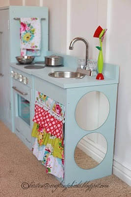 build wooden play kitchen