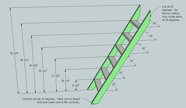 loft bed ladder design