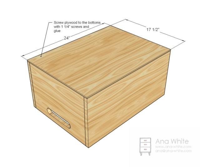 Toy Box Plans