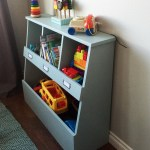 Toy Bin Box With Cubby Shelves Ana White