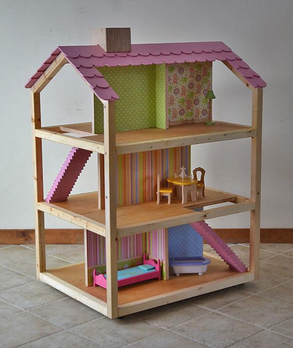 Free Barbie Doll House Plans
