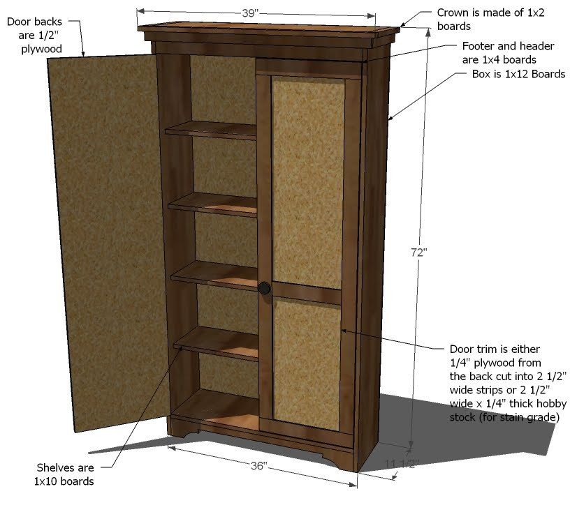 armoire furniture plans tired72yqr. Black Bedroom Furniture Sets. Home Design Ideas