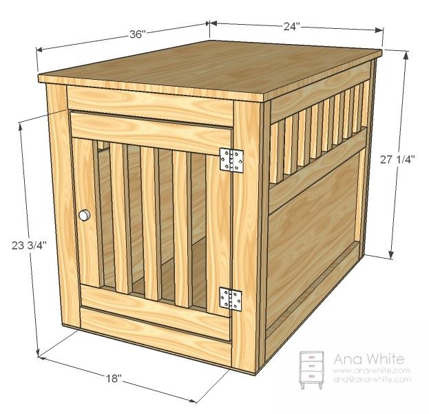 Wood Dog Cage Plans