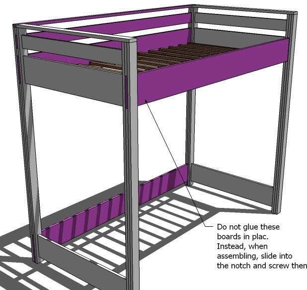 Build DIY Queen size loft bed plans free PDF Plans Wooden Diy Rabbit ...