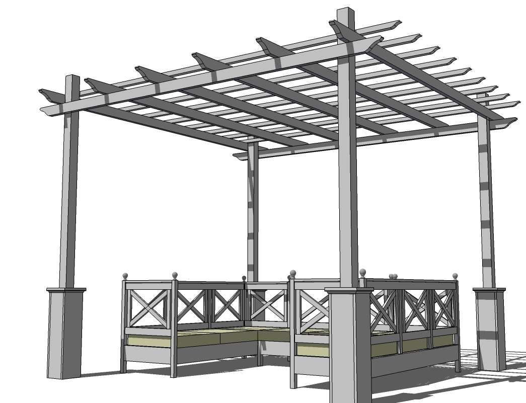 Pdf Covered Pergolas Plans Diy Free Plans Download