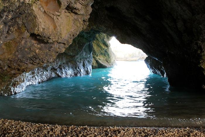 Myrtos cave